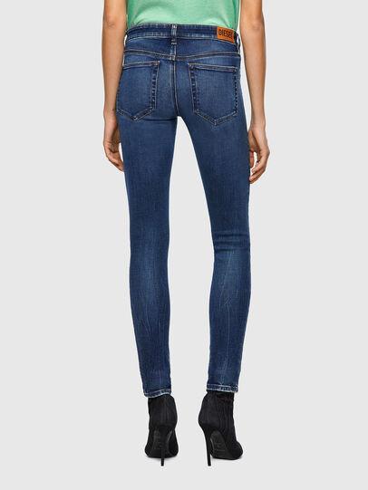 Diesel - Slandy Low 009ZX, Blu Scuro - Jeans - Image 2
