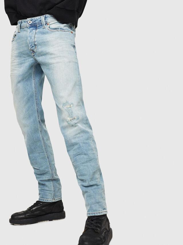 Diesel - Larkee-Beex 087AX, Blu Chiaro - Jeans - Image 1