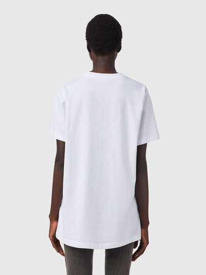 Diesel - T-DARIA-B2, Bianco - T-Shirts - Image 2