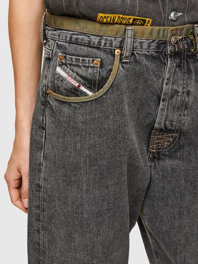 Diesel - DxD-P3 0CBBH, Nero/Grigio scuro - Jeans - Image 4