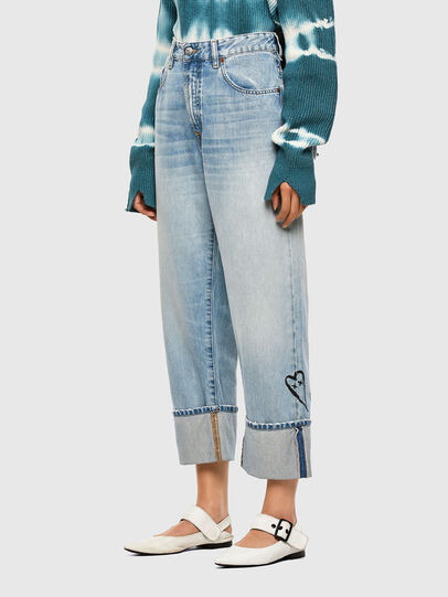 Diesel - D-Reggy 009GZ, Blu Chiaro - Jeans - Image 7