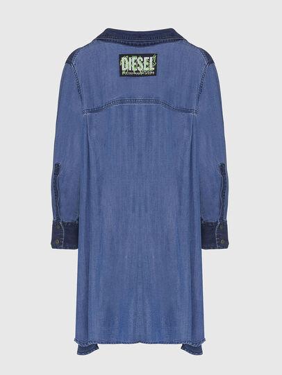 Diesel - DE-NILLA, Blu Chiaro - Camicie in Denim - Image 2