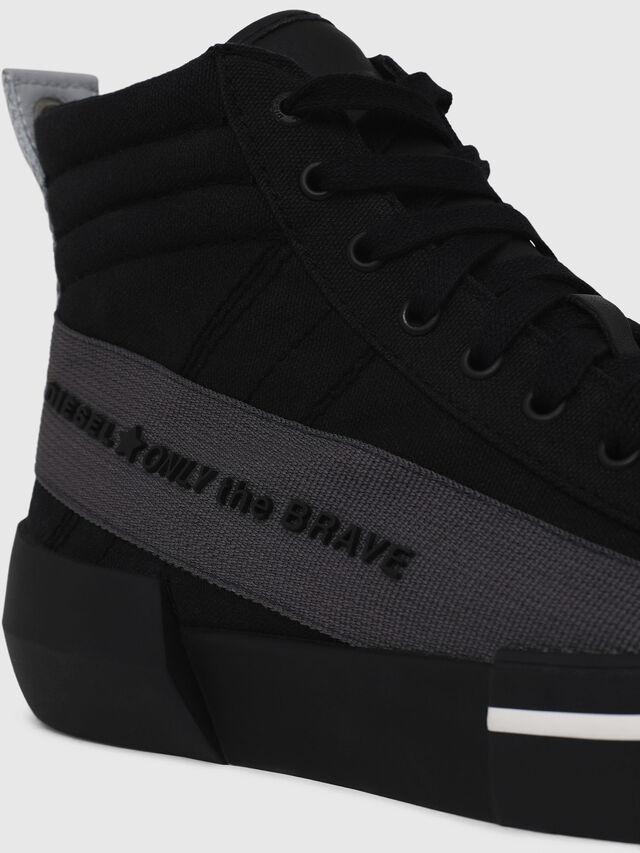Diesel - S-DESE MC, Nero/Grigio - Sneakers - Image 4