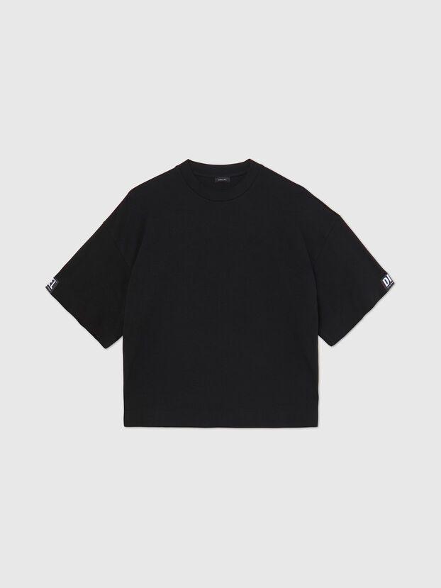UFTEE-SHORTEE, Nero - T-Shirts