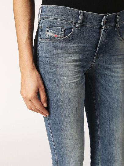 Diesel - Sandy 0688V, Blu Chiaro - Jeans - Image 4
