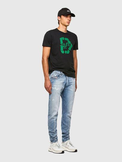 Diesel - D-Strukt 009KH, Blu Chiaro - Jeans - Image 5