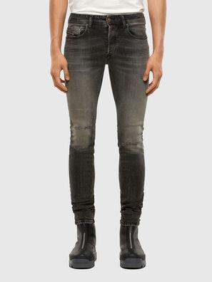 Sleenker 009JF, Nero/Grigio scuro - Jeans