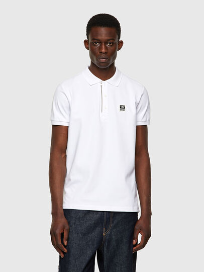 Diesel - T-HARRY, Bianco - Polo - Image 1