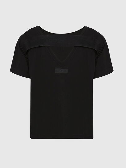 Diesel - T-RYLY, Nero - T-Shirts - Image 2