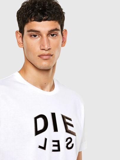 Diesel - T-DIEGOS-A1, Bianco - T-Shirts - Image 3