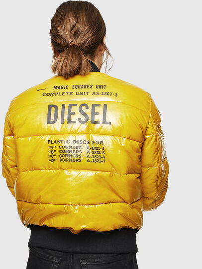 Diesel - W-ONY, Giallo - Giacche invernali - Image 2
