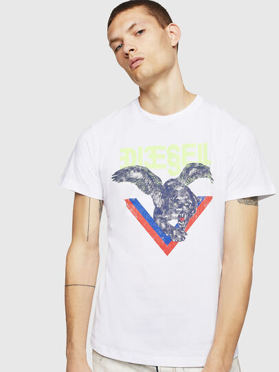 Diesel - T-DIEGO-A4, Bianco - T-Shirts - Image 1