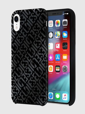 DIESEL PRINTED CO-MOLD CASE FOR IPHONE XR, Nero - Cover