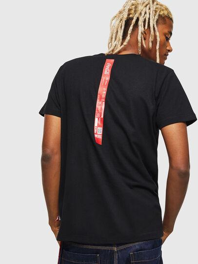 Diesel - CC-T-DIEGO-COLA, Nero - T-Shirts - Image 2