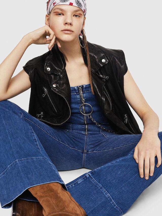 Diesel - DE-THINK, Blu Jeans - Tute e Salopette - Image 4