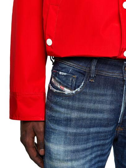 Diesel - Sleenker 09A27, Blu Scuro - Jeans - Image 4