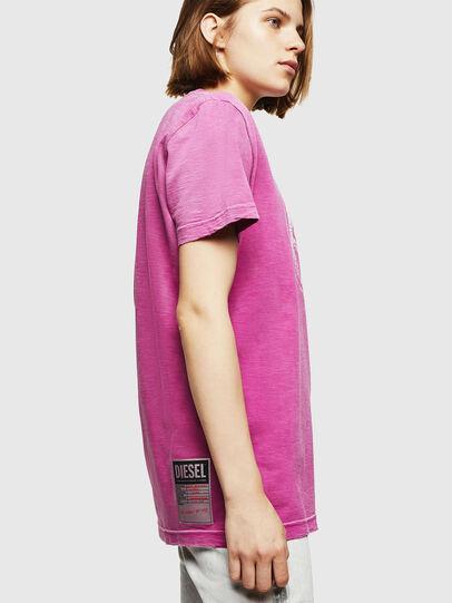 Diesel - T-FLAVIA-IA, Rosa - T-Shirts - Image 5