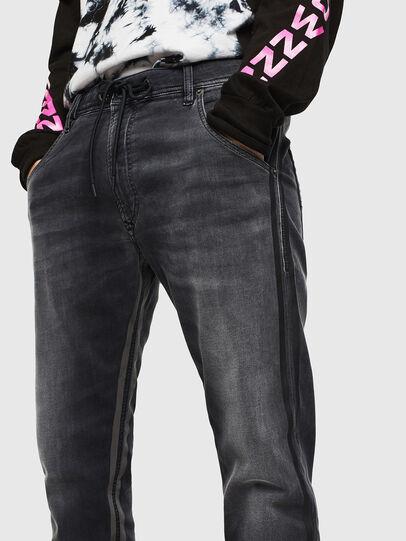 Diesel - Krooley JoggJeans 0094Q, Nero/Grigio scuro - Jeans - Image 3