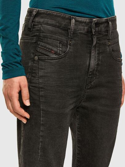 Diesel - Fayza JoggJeans 009HM, Nero/Grigio scuro - Jeans - Image 3