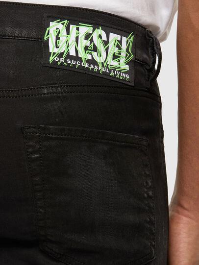 Diesel - D-Strukt JoggJeans 009GH, Nero/Grigio scuro - Jeans - Image 3