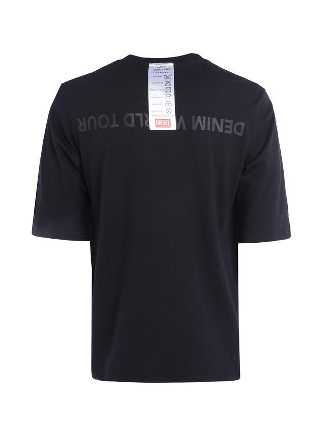 Diesel - SOTO01, Nero - T-Shirts - Image 3