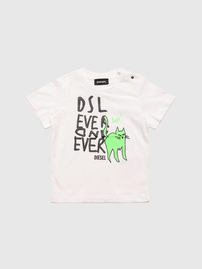 Diesel - TORTUB, Bianco - T-shirts e Tops - Image 1