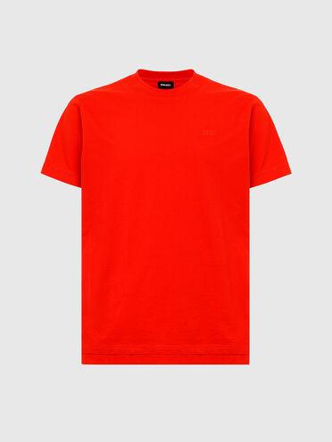 T-shirt con doppio orlo