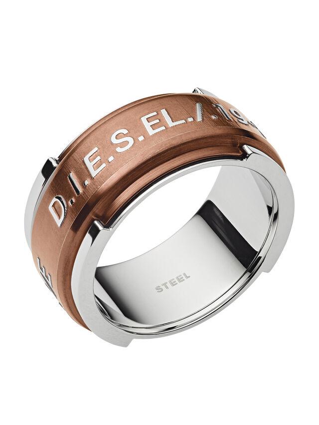 Diesel - RING DX1097, Bronzo - Anelli - Image 1