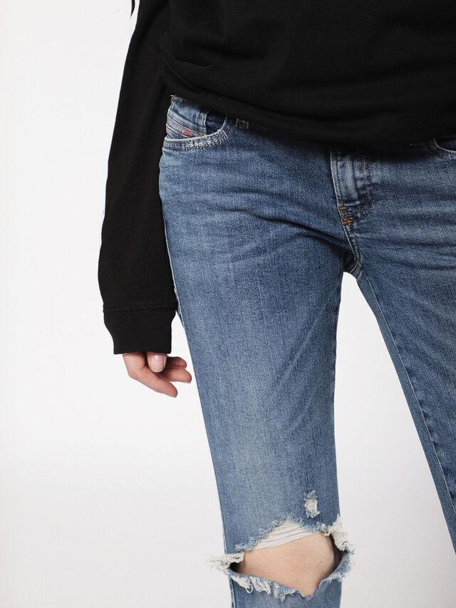 Diesel - Gracey 069AI, Blu medio - Jeans - Image 6