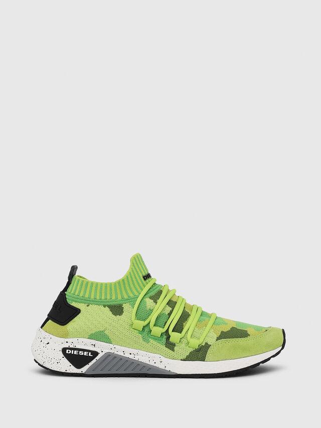 Diesel - S-KB SL W, Verde Fluo - Sneakers - Image 1