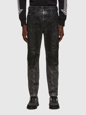 D-Vider 009QZ, Nero/Grigio scuro - Jeans