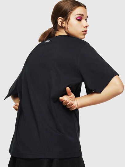 Diesel - T-JUSTINA, Nero - T-Shirts - Image 2
