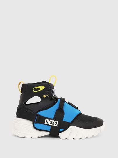 Diesel - S-SHARQUEZ MID, Nero - Sneakers - Image 1