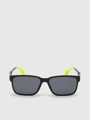 DL0327, Nero/Giallo - Occhiali da sole