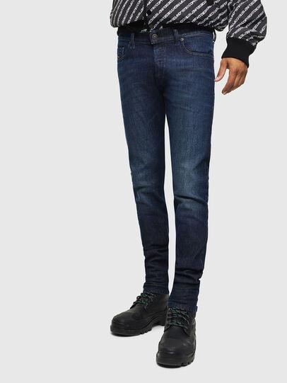 Diesel - D-Luster 0095K, Blu medio - Jeans - Image 1