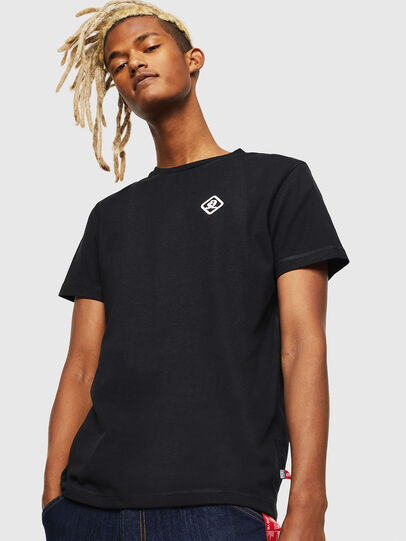 Diesel - CC-T-DIEGO-COLA, Nero - T-Shirts - Image 1