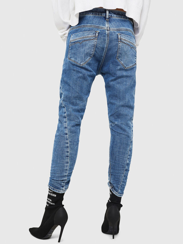 Diesel - Fayza JoggJeans 0870K, Blu Chiaro - Jeans - Image 2