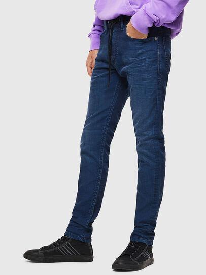 Diesel - Thommer JoggJeans 0098H, Blu medio - Jeans - Image 4