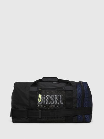 Diesel - M-CAGE DUFFLE M, Nero - Borse da viaggio - Image 1