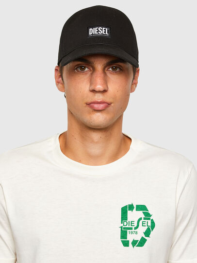 Diesel - T-JUST-N40, Bianco - T-Shirts - Image 5