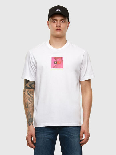 Diesel - T-JUST-X64, Bianco - T-Shirts - Image 5