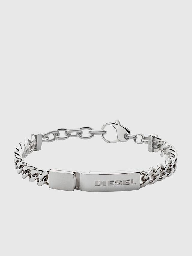 Diesel - DX0966, Argento - Braccialetti - Image 1