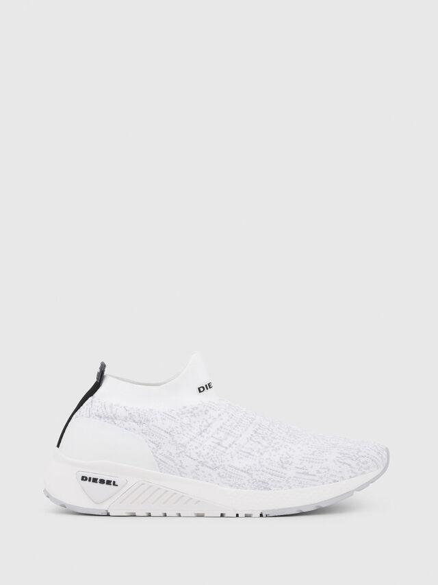Diesel - S-KB ATHL SOCK, Bianco - Sneakers - Image 1