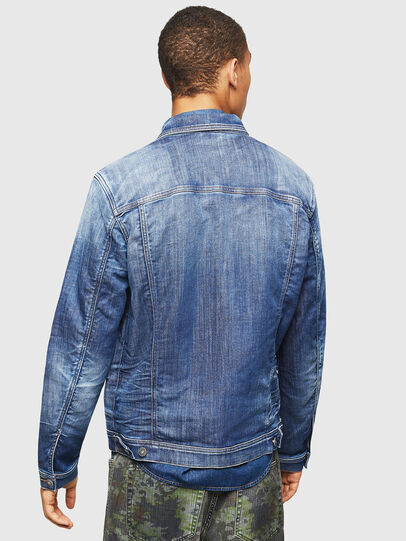 Diesel - NHILL-TW, Blu Jeans - Giacche in denim - Image 2