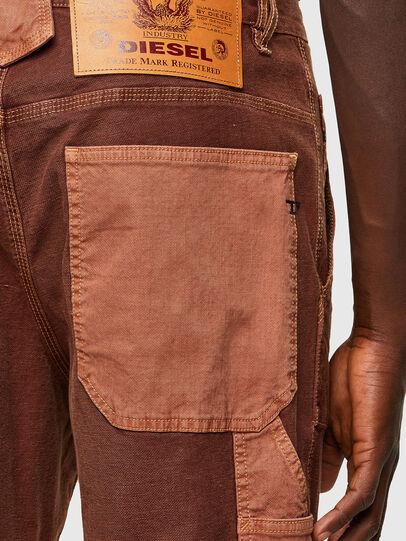Diesel - D-Franky JoggJeans® 0DDAW, Marrone - Jeans - Image 4