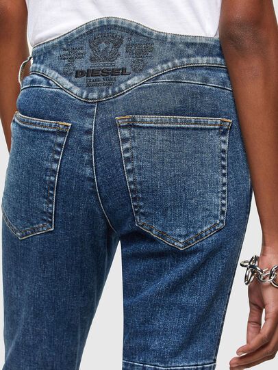 Diesel - Babhila 009VC, Blu medio - Jeans - Image 4