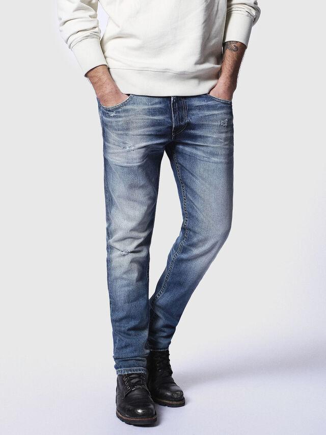 Diesel - Thommer 084DD, Blu medio - Jeans - Image 1