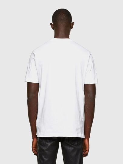 Diesel - T-JUST-SLITS-A30, Bianco - T-Shirts - Image 2