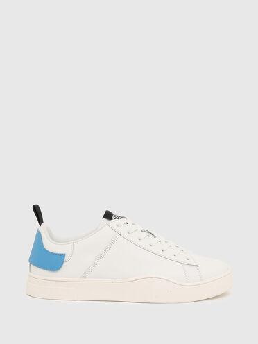 Sneaker basse con inserto a doppio strato sul tallone