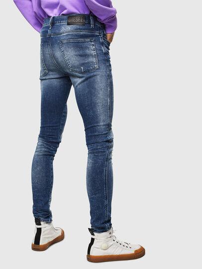 Diesel - D-Reeft JoggJeans 0096M, Blu Scuro - Jeans - Image 2
